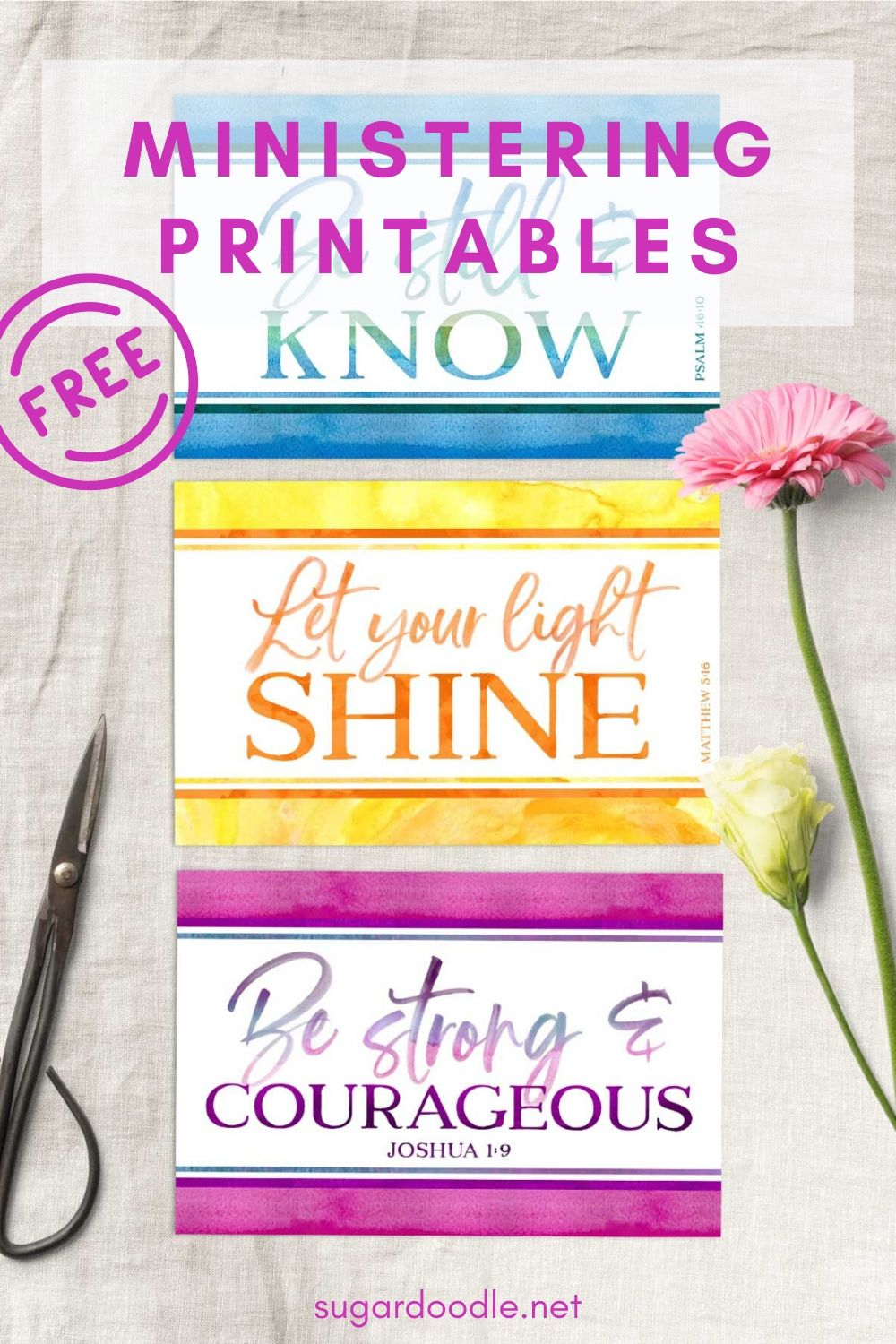 These free ministering printables are perfect for Christian sisters. They're cute, all occasion, and are sure to brighten someone's day. Instant download.