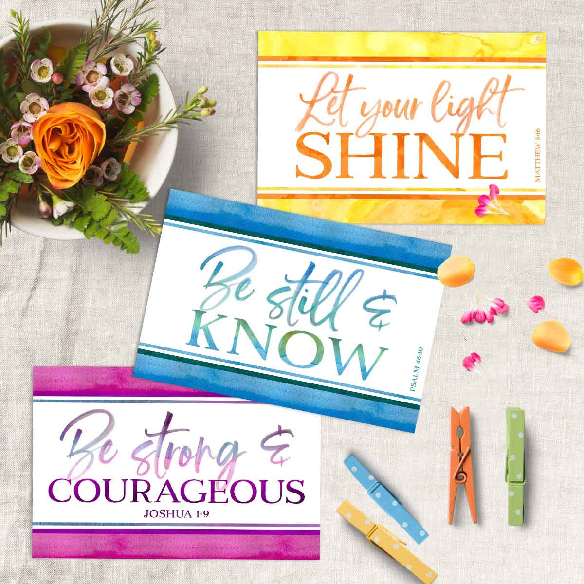 All-Occasion Ministering Scripture Printables